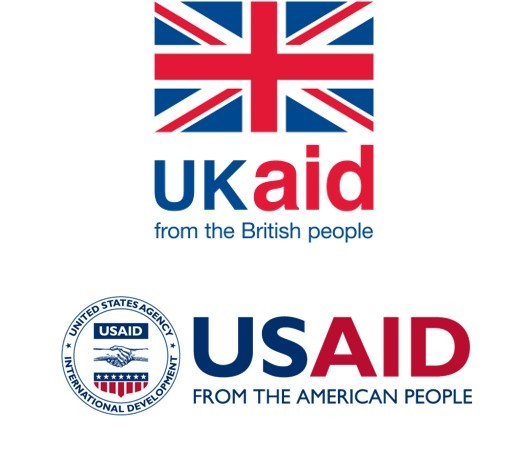 DFID and USAID logos